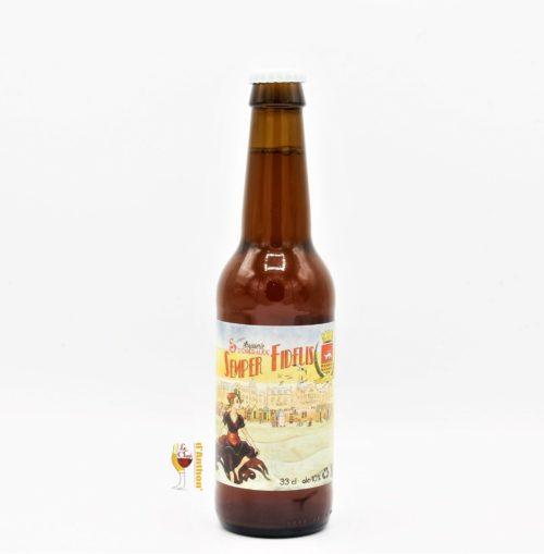 Biere Bouteille Blonde Brasserie Emeraude Semper Fidelis Bretonne 33cl