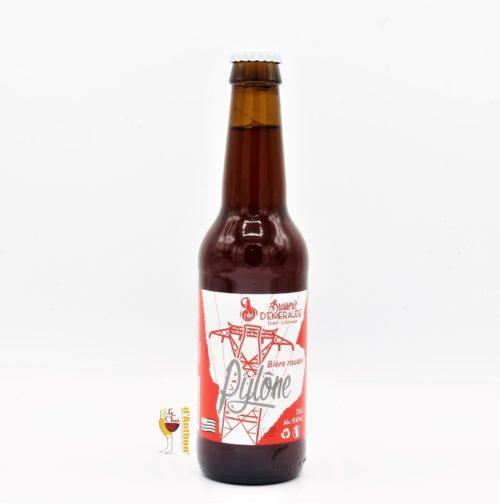 Biere Bouteille Rousse Brasserie Emeraude Pylone Bretonne 33cl