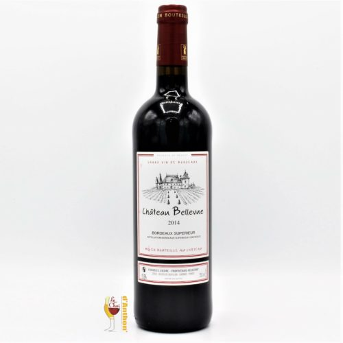 Le Chai D&645.JPG039;Anthon Vin Bouteille Rouge Bordeaux Superieur Bellevue 75cl 645