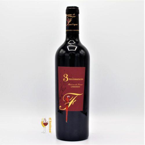 Le Chai D&657.JPG039;Anthon Vin Bouteille Rouge Languedoc 3 Naissances Faminlongue 75cl 657
