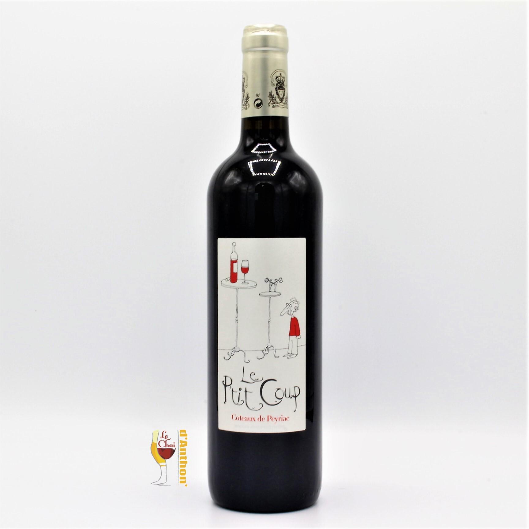 Le Chai D&658.JPG039;Anthon Vin Bouteille Rouge Languedoc Coteaux De Peyriac Le Ptit Coup Donjon 75cl 658