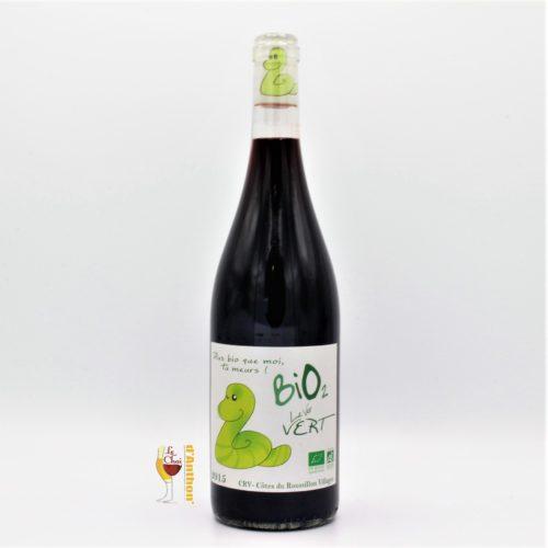 Le Chai D&659.JPG039;Anthon Vin Bouteille Rouge Languedoc Cotes Du Roussillon Ver Vert Maison Jean Pla Bio 75cl 659