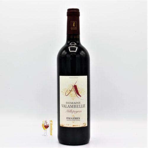 Le Chai D&660.JPG039;Anthon Vin Bouteille Rouge Languedoc Faugeres Millepeyres Valambelle 75cl 660
