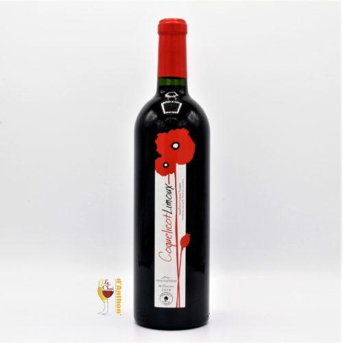 Le Chai D&662.JPG039;Anthon Vin Bouteille Rouge Languedoc Limoux Coquelicot Anne De Joyeuse 75cl 662