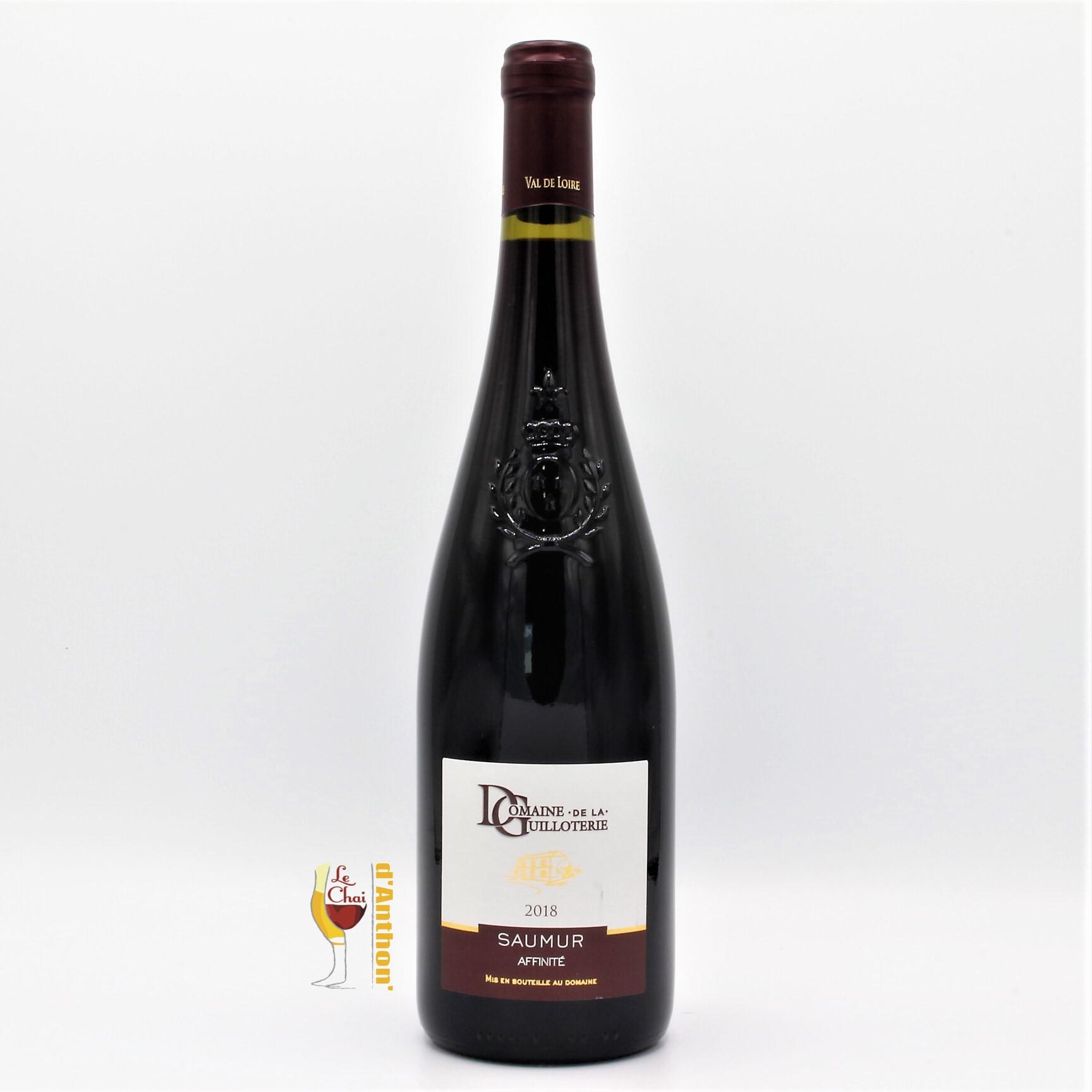 Le Chai D&666.JPG039;Anthon Vin Bouteille Rouge Loire Saumur Affinite Guilloterie 75cl 666