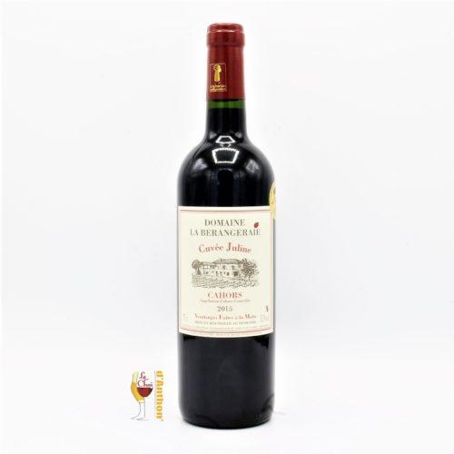 Le Chai D&670.JPG039;Anthon Vin Bouteille Rouge Sud Ouest Cahors Juline Berangeraie 75cl 670