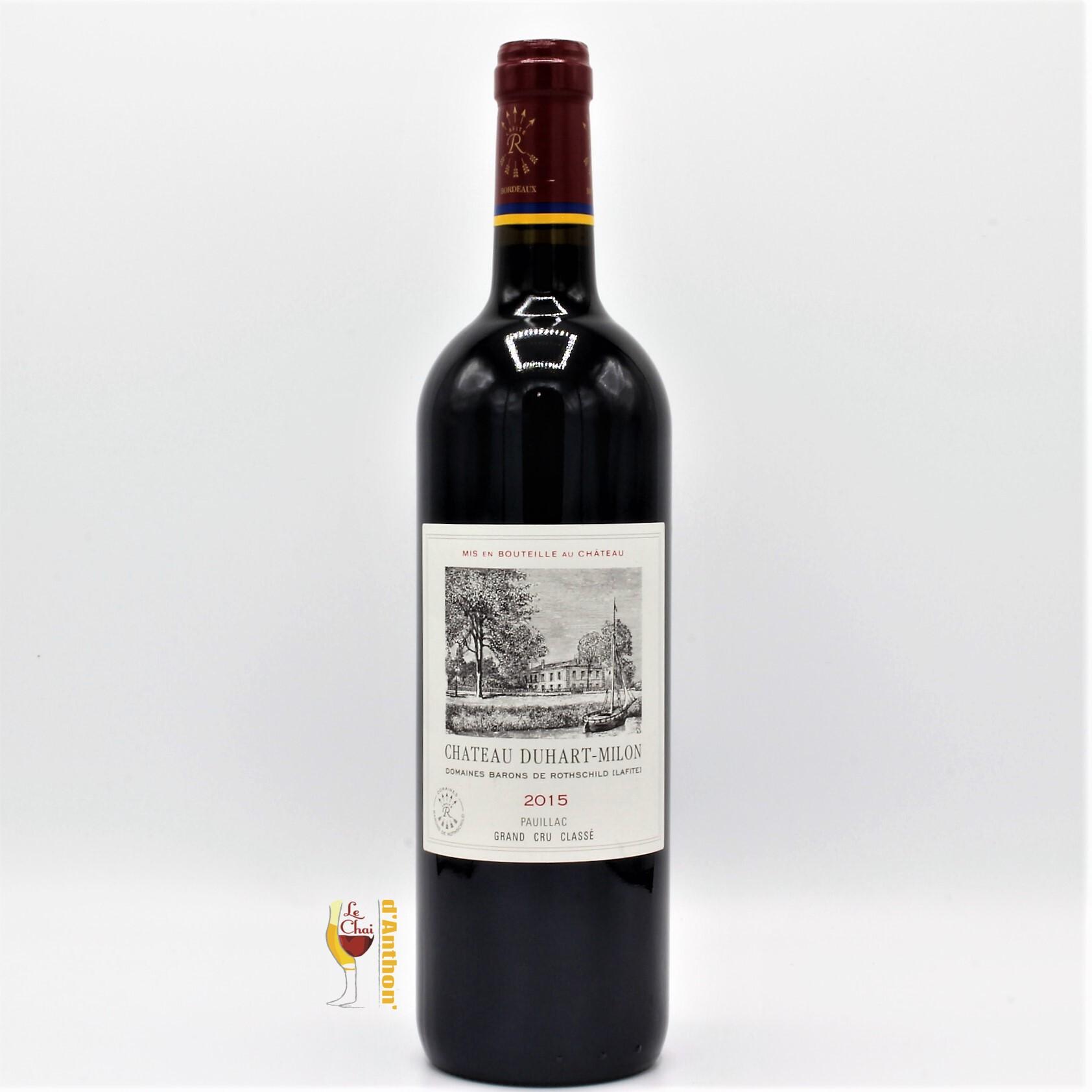 Le Chai D&682.JPG039;Anthon Vin Bouteille Rouge Bordeaux Pauillac 4eme Grand Cru Classe Duhart Milon 2015 75cl 682