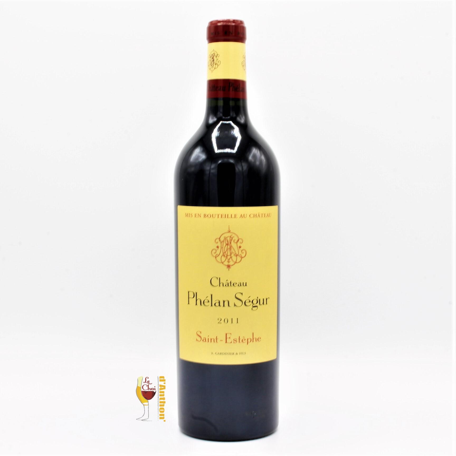 Le Chai D&686.JPG039;Anthon Vin Bouteille Rouge Bordeaux St Estephe Phelan Segur 2011 75cl 686