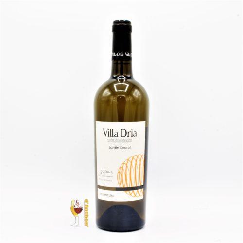 Le Chai D&692.JPG039;Anthon Vin Blanc Bouteille Sud Ouest Cotes De Gascogne Villa Dria Gros Manseng 75cl 692