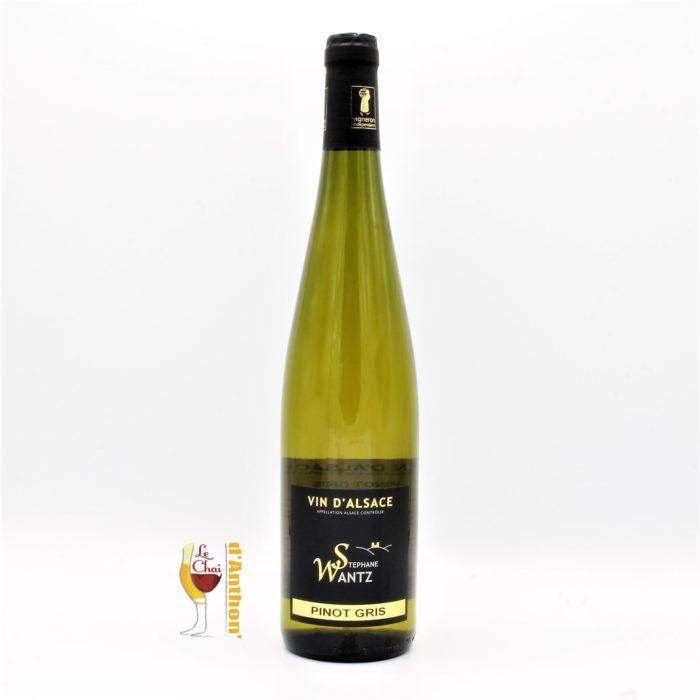 Le Chai D&694.JPG039;Anthon Vin Blanc Bouteille Alsace Pinot Gris Wantz 75cl 694