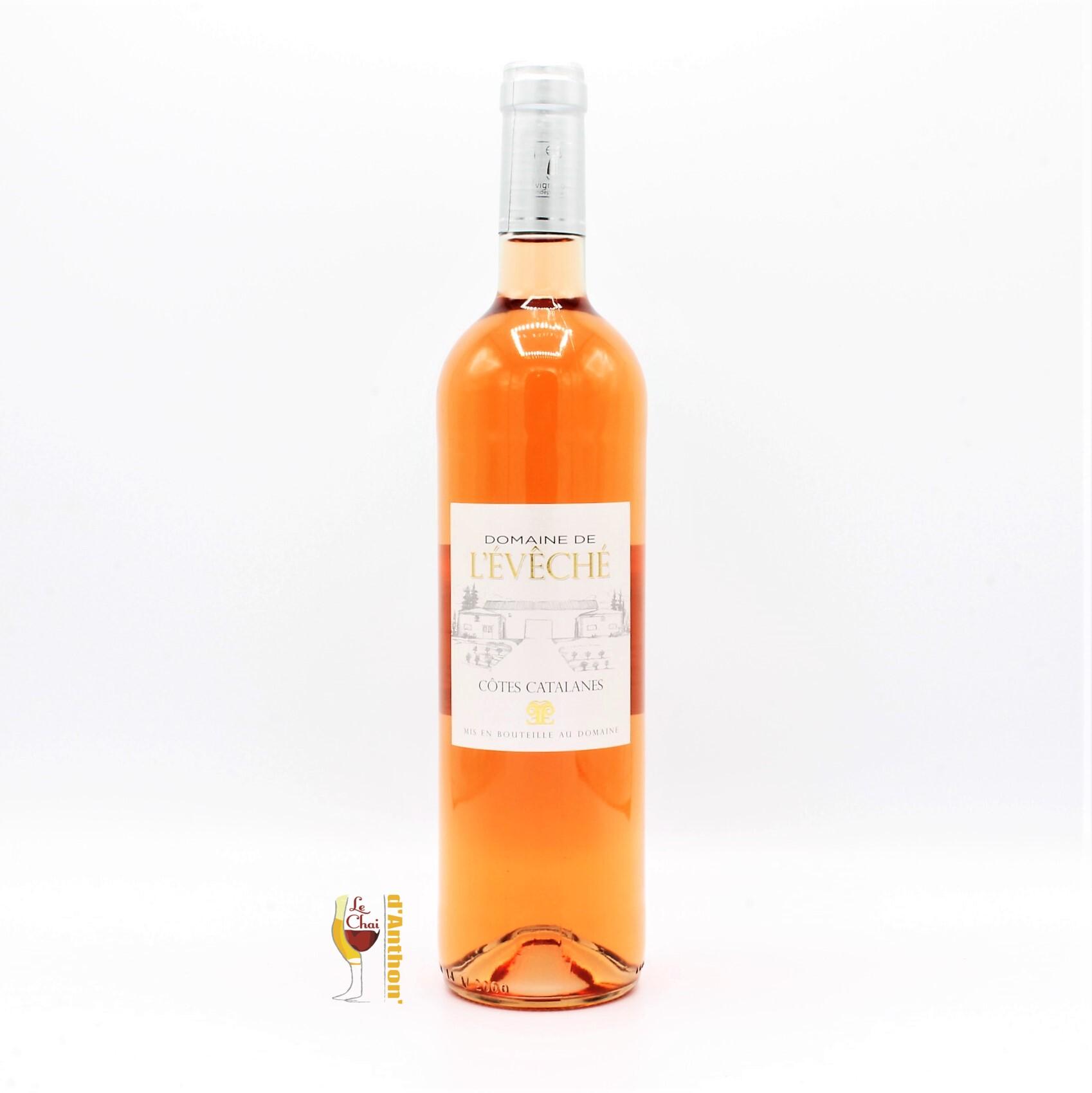 Le Chai D&711.JPG039;Anthon Vin Rose Bouteille Languedoc Cotes Catalanes De L Eveche 75cl 711