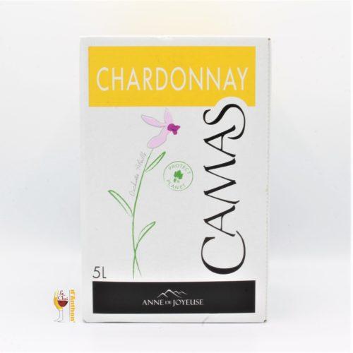 Le Chai D&717.JPG039;Anthon Vin Bib Cubis Fontaine A Vin Igp Pays D'oc Camas Chardonnay Anne De Joyeuse 5l 717