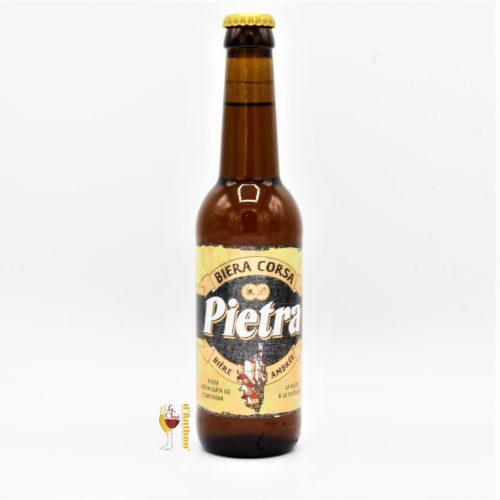 Le Chai D&733.JPG039;Anthon Biere Bouteille Ambree Brasserie Pietra Corse 33cl 733