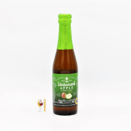 Le Chai D&748.PNG039;Anthon Biere Bouteille Aromatisee Brasserie Lindemans Apple Belge 25cl.PNG 748