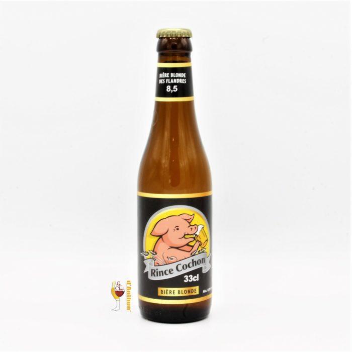 Le Chai D&769.JPG039;Anthon Biere Bouteille Blonde Brasserie Haacht Rince Cochon Belge 33cl 769