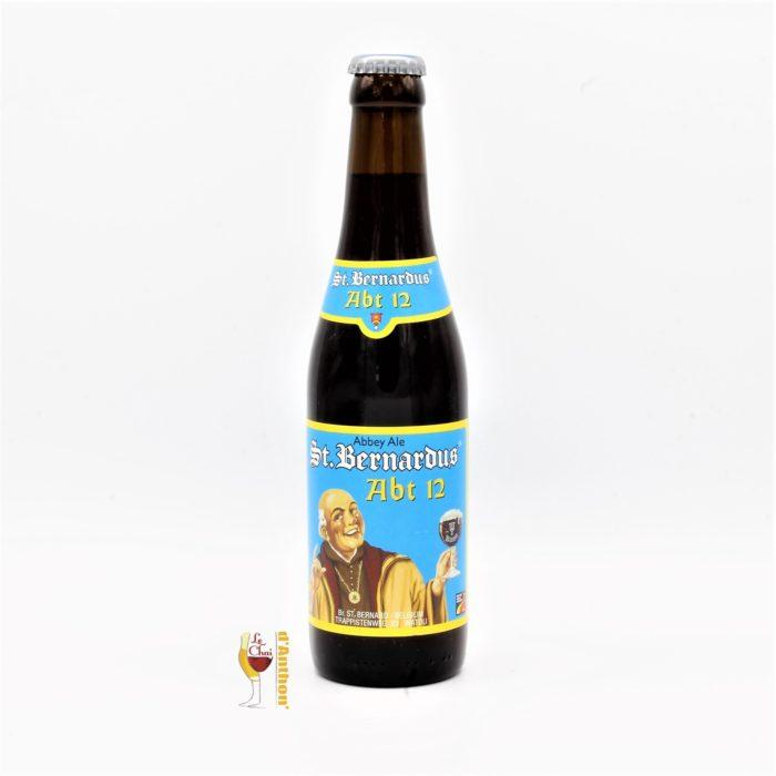 Le Chai D&784.JPG039;Anthon Biere Bouteille Brune Brasserie Saint Bernardus Belge 33cl 784