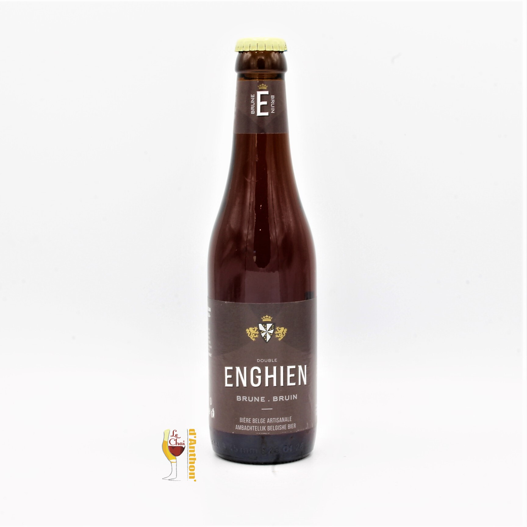 Le Chai D&785.JPG039;Anthon Biere Bouteille Brune Brasserie Silly Enghien Belge 33cl 785