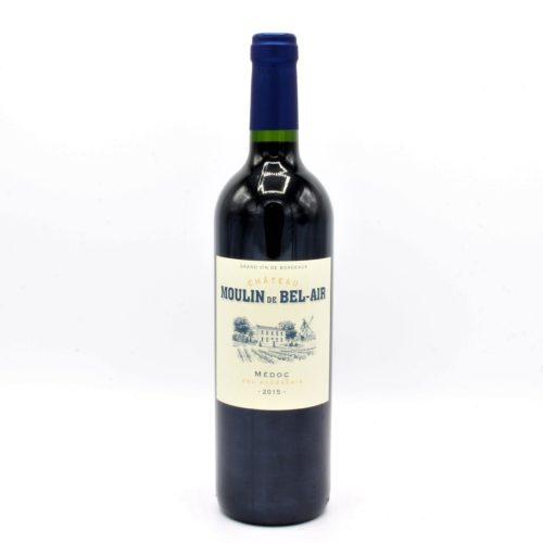 Le Chai D&824.JPG039;Anthon Vin Bouteille Rouge Medoc Belair Moulin De Bourgeois 75cl 824