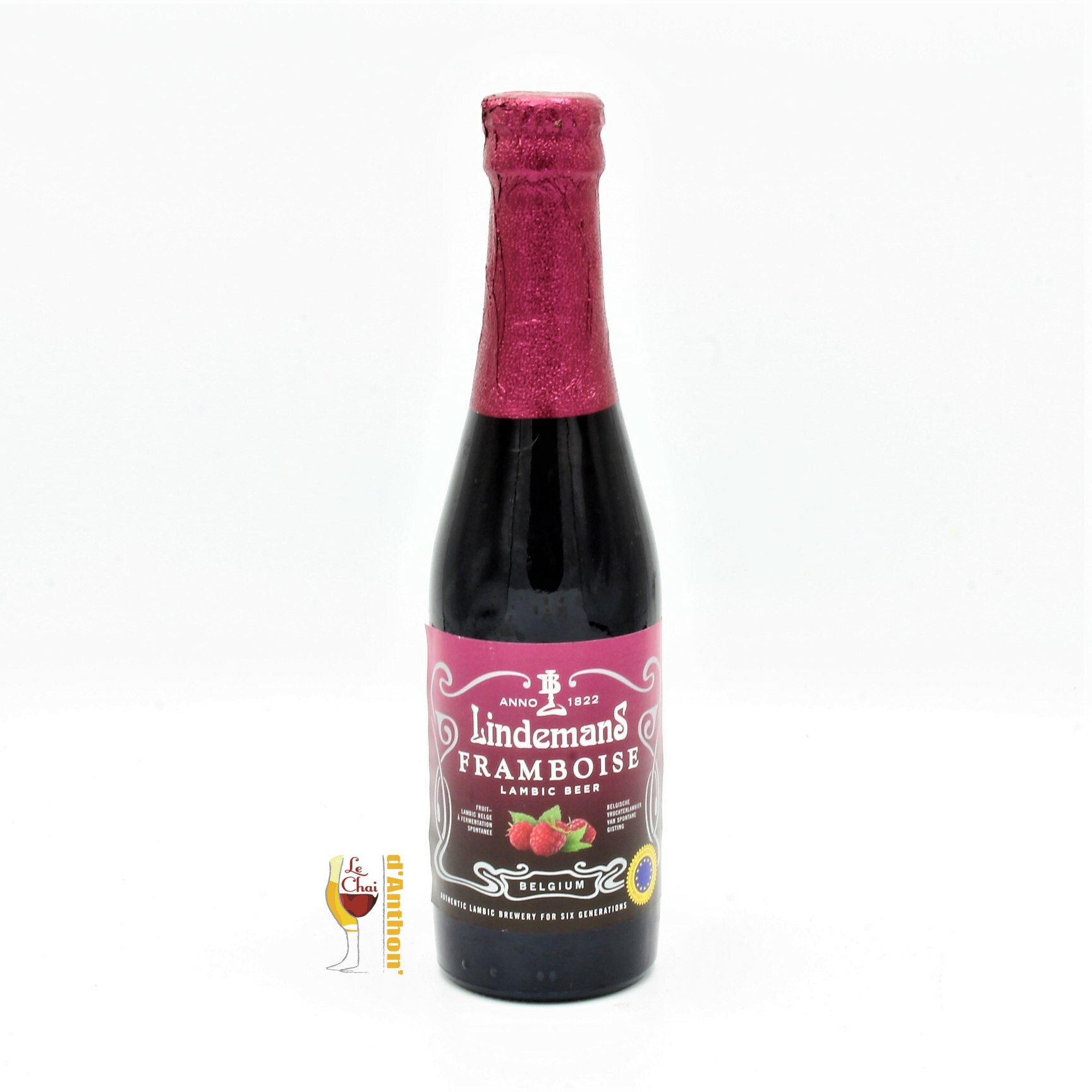 Le Chai D&826.jpg039;Anthon Biere Bouteille Aromatisee Brasserie Lindemans Framboise Belge 826