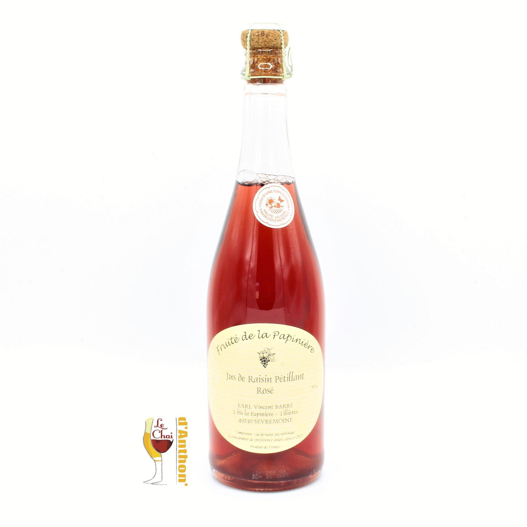 Le Chai D&851.jpg039;Anthon Vin Sans Alcool Papiniere Rose 75c 851