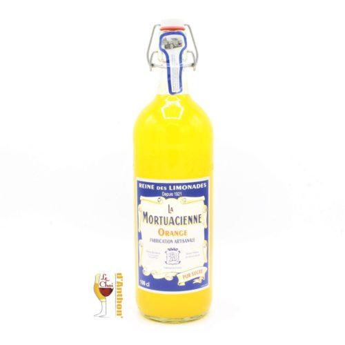 Le Chai D&856.jpg039;Anthon Limonade Reine La Mortuacienne Pur Sucre 1l 33cl Fabrication Artisanale Orange 856