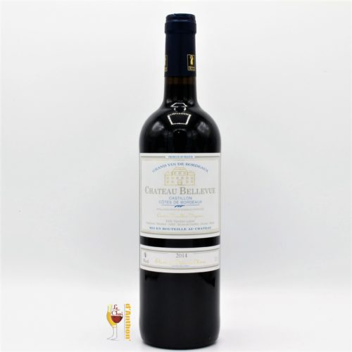 Le Chai D&863.JPG039;Anthon Vin Bouteille Rouge Bordeaux Castillon Cotes De Bordeaux Vieilles Vignes Bellevue 75cl 863
