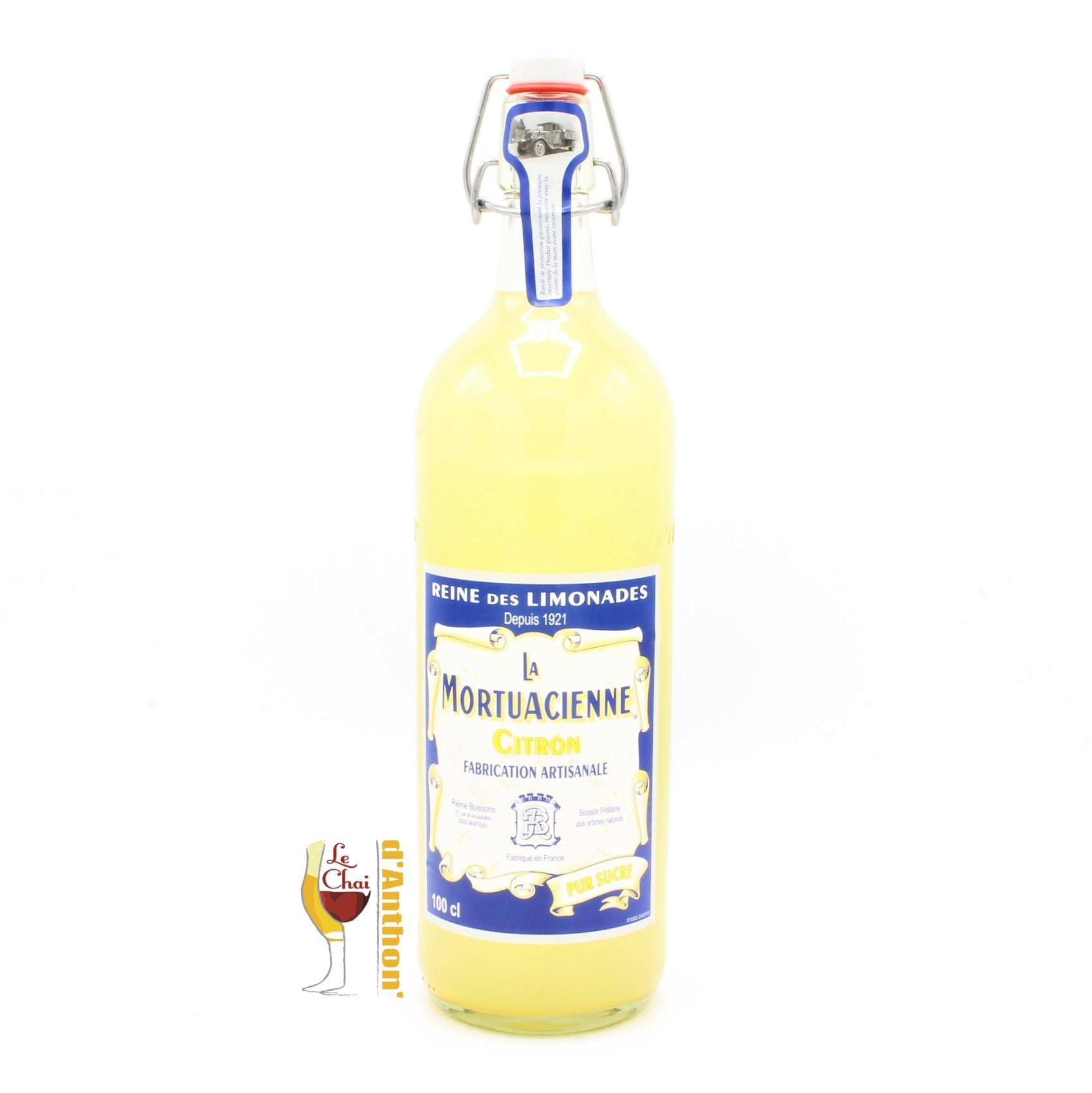 Le Chai D&879.JPG039;Anthon Limonade Reine La Mortuacienne Pur Sucre 1l 33cl Fabrication Artisanale Citron 879