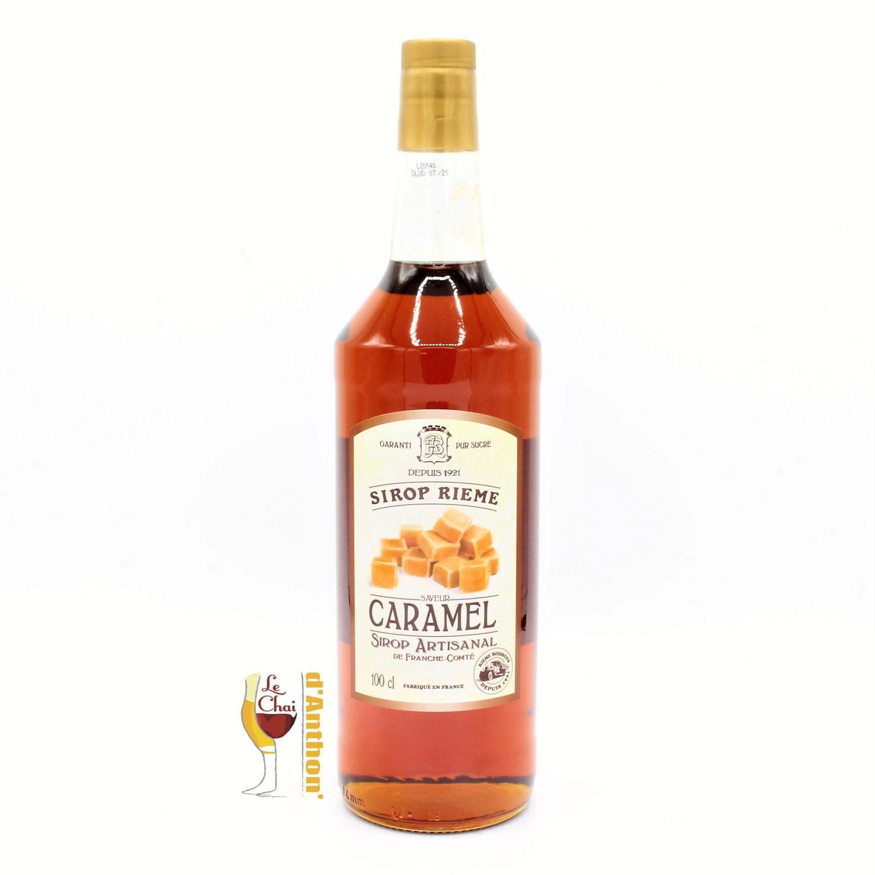 Le Chai D&885.JPG039;Anthon Sirop 1l Rieme Pur Sucre Caramel 885