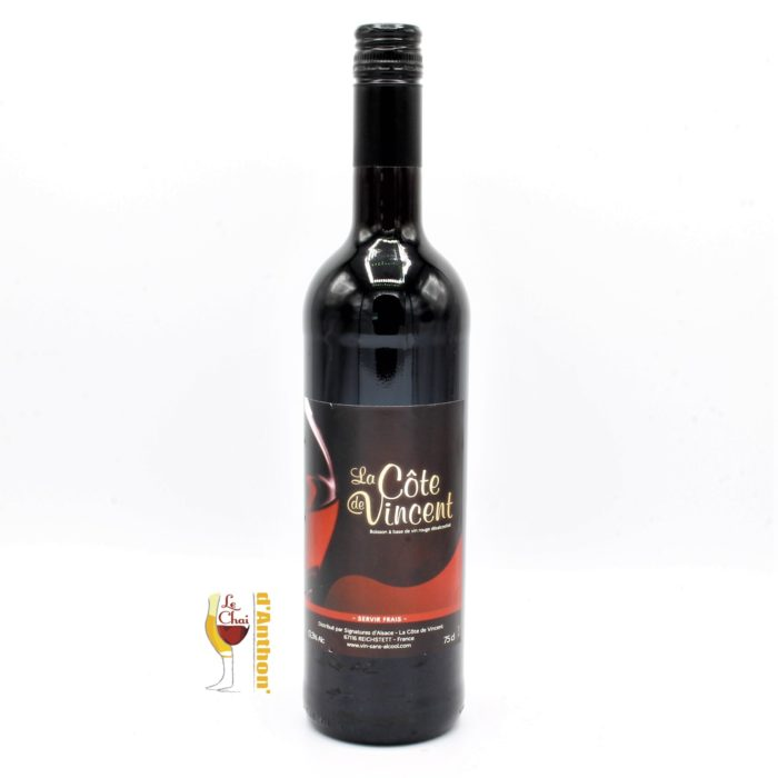 Le Chai D&892.JPG039;Anthon Vin Sans Alcool Cote De Vincent Rouge 75cl 892