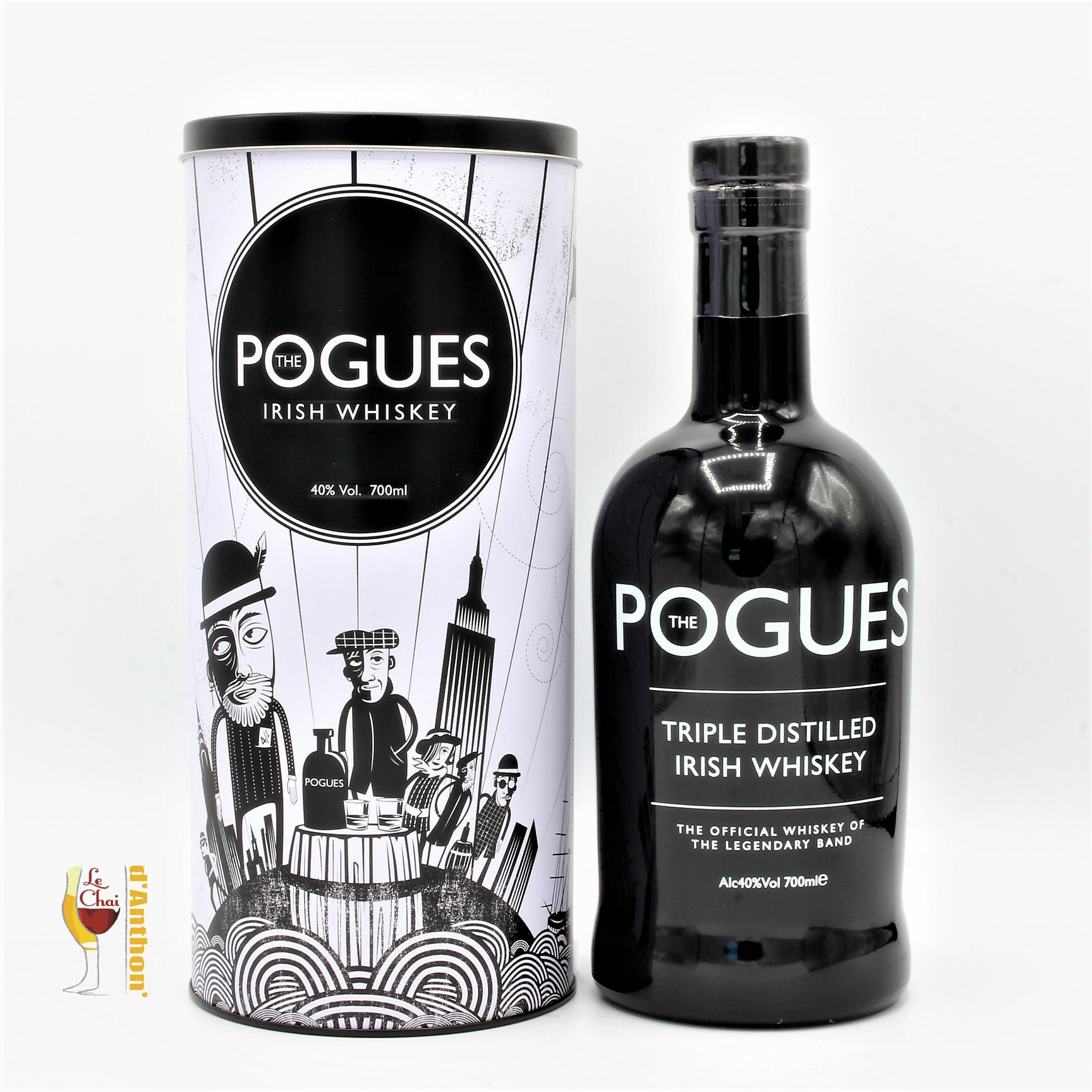 Le Chai D&905.JPG039;Anthon Spiritueux Whiskies Irish Blend The Pogues Blended 70cl 905