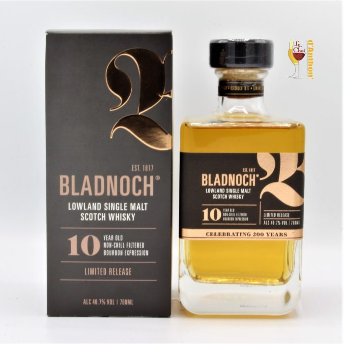Le Chai D&906.JPG039;Anthon Spiritueux Whiskies Scotch Single Malt Bladnoch 10 Ans 70cl 906