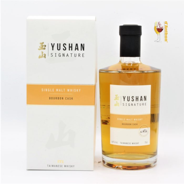 Le Chai D&909.JPG039;Anthon Spiritueux Whiskies Taiwan Single Malt Yushan Signature Bourbon Cask 70cl 909
