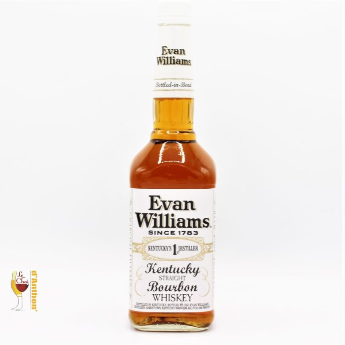 Le Chai D&912.JPG039;Anthon Spiritueux Whiskies Straight Bourbon Evan Williams White 70cl 912