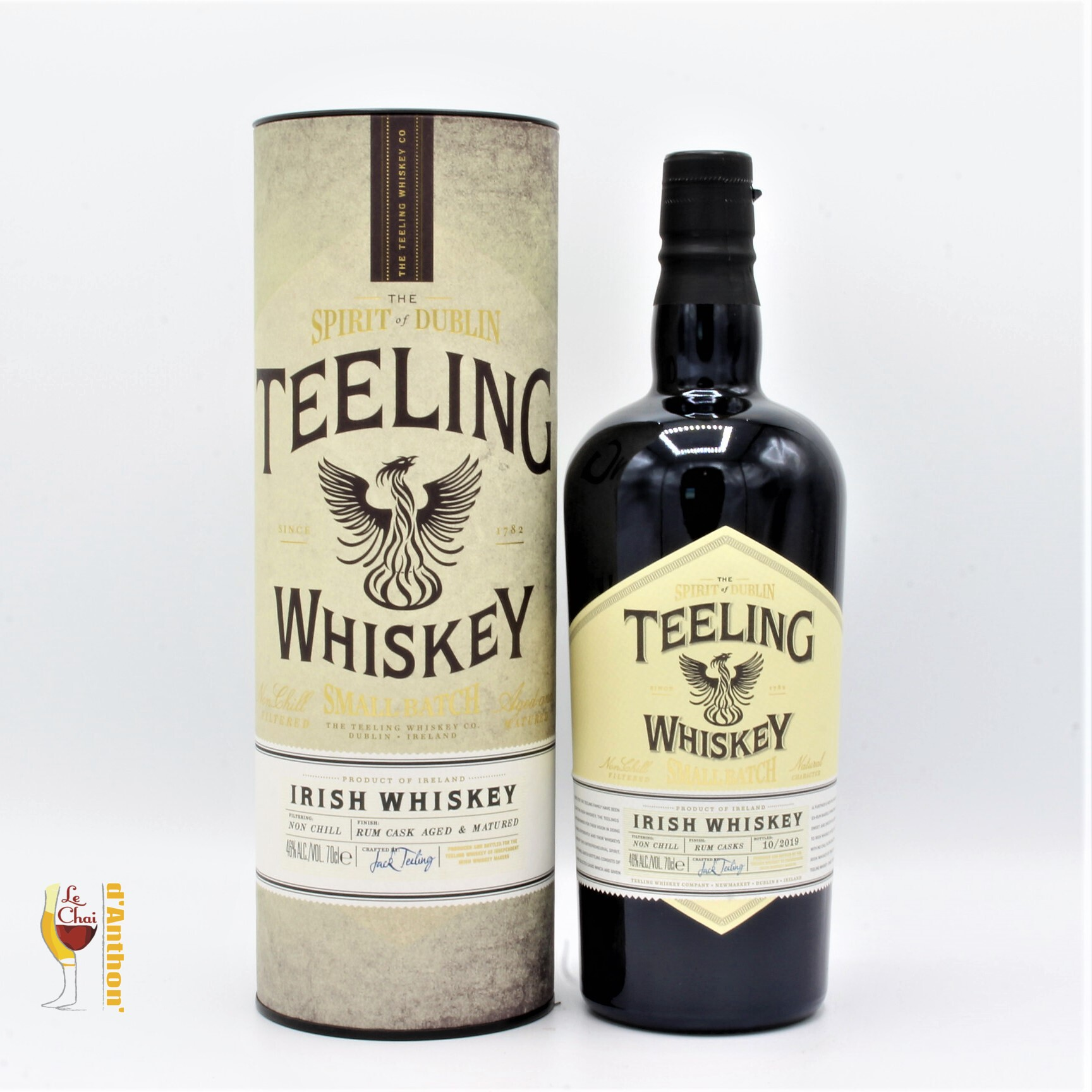 Le Chai D&924.JPG039;Anthon Spiritueux Whiskies Irish Blend Teeling Small Batch 70cl 924