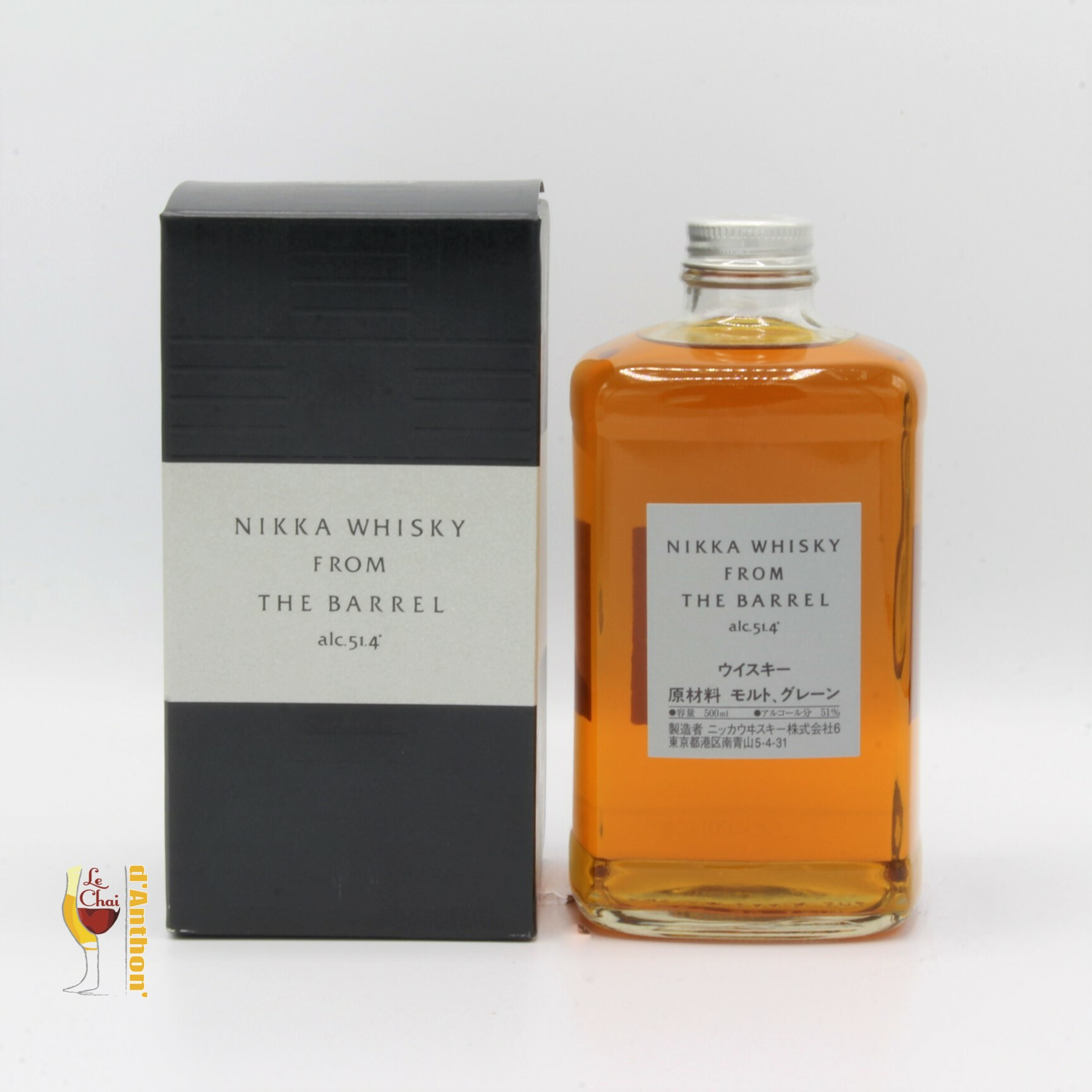 Le Chai D&925.JPG039;Anthon Spiritueux Whiskies Japonais Blend Nikka From The Barrel 70cl 925