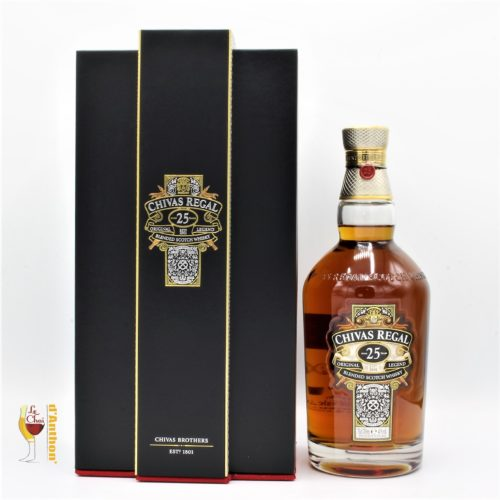 Le Chai D&927.JPG039;Anthon Spiritueux Whiskies Scotch Blend Chivas Regal 25 Ans 70cl 927