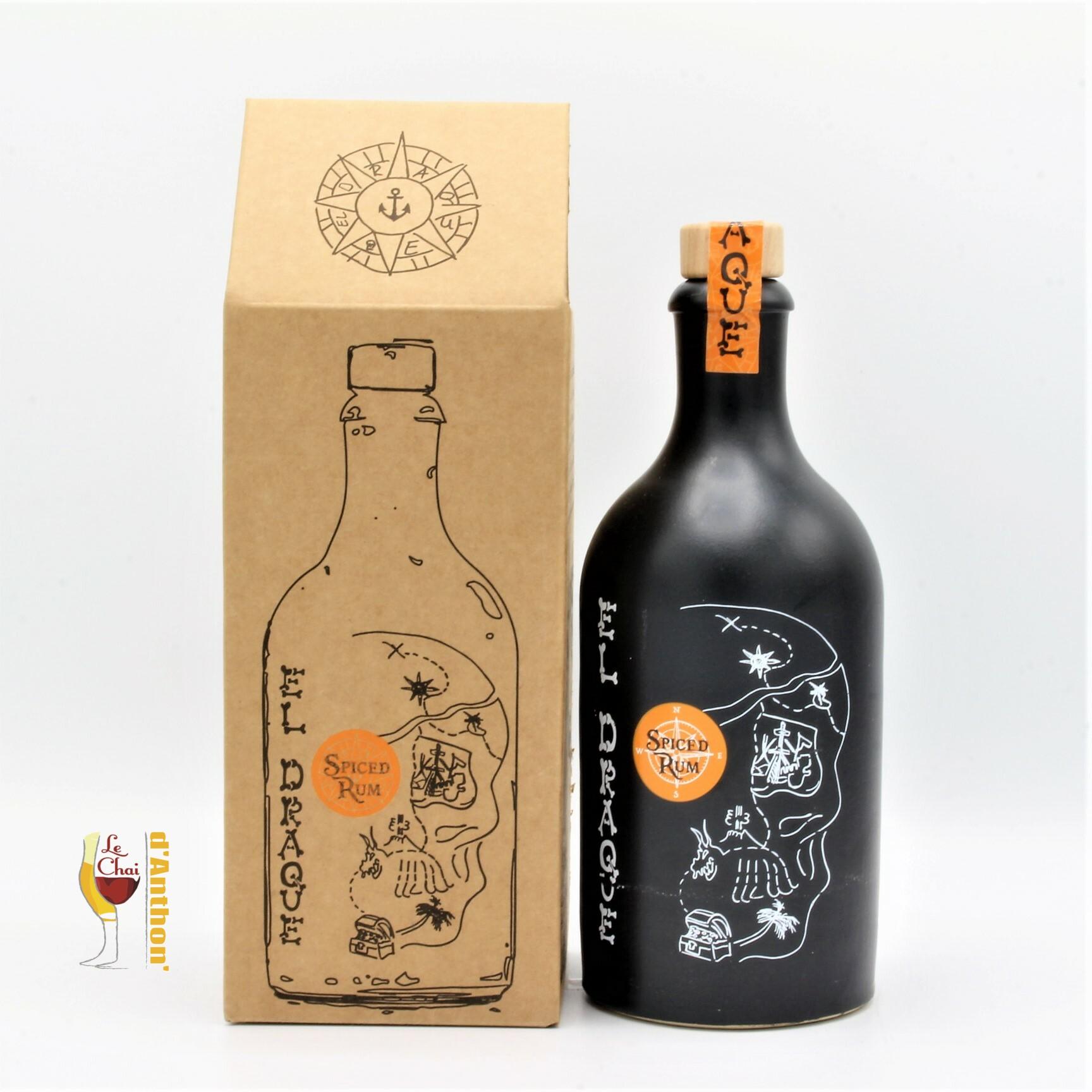 Le Chai D&931.JPG039;Anthon Spiritueux Rhum Spiced Traditionnel El Draque Mayenne 50cl 931