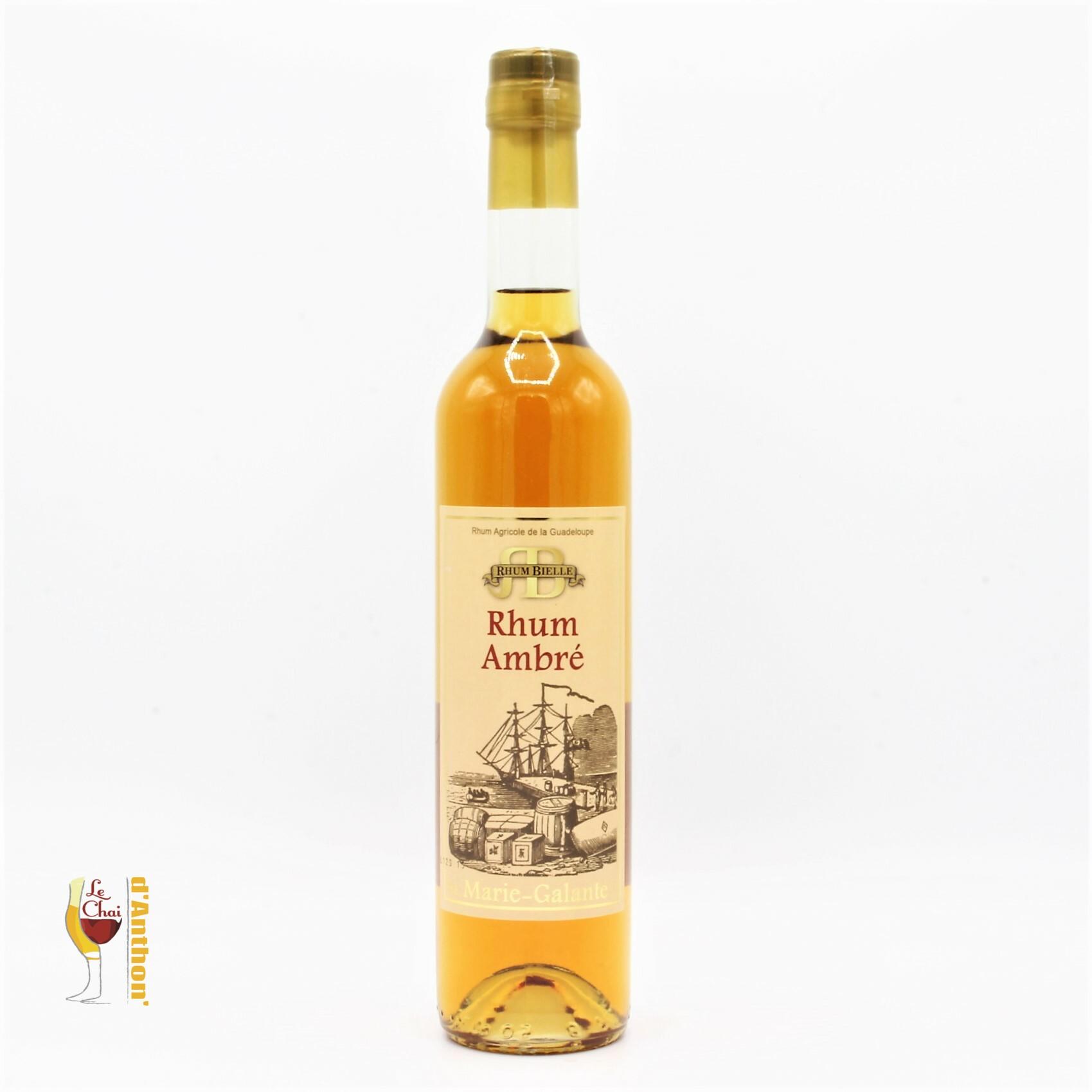 Le Chai D&932.JPG039;Anthon Spiritueux Rhum Ambre Agricole Guadeloupe Bielle Marie Galante 50cl 932