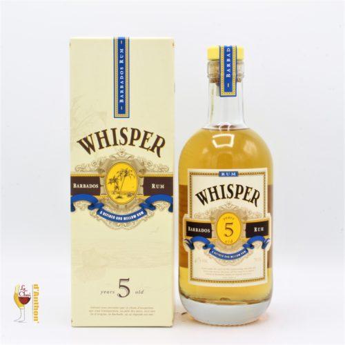 Le Chai D&937.JPG039;Anthon Spiritueux Rhum Ambre Melasse Barbade Whisper 5 Ans 70cl 937