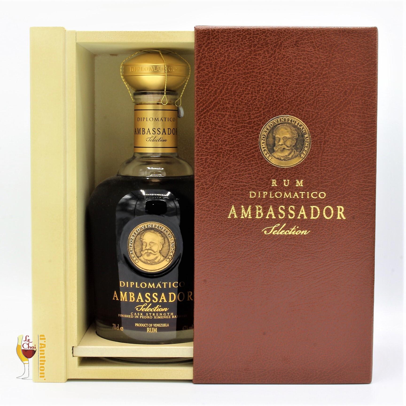 Le Chai D&939.JPG039;Anthon Spiritueux Rhum Ambre Melasse Venezuela Diplomatico Ambassador 70cl 939