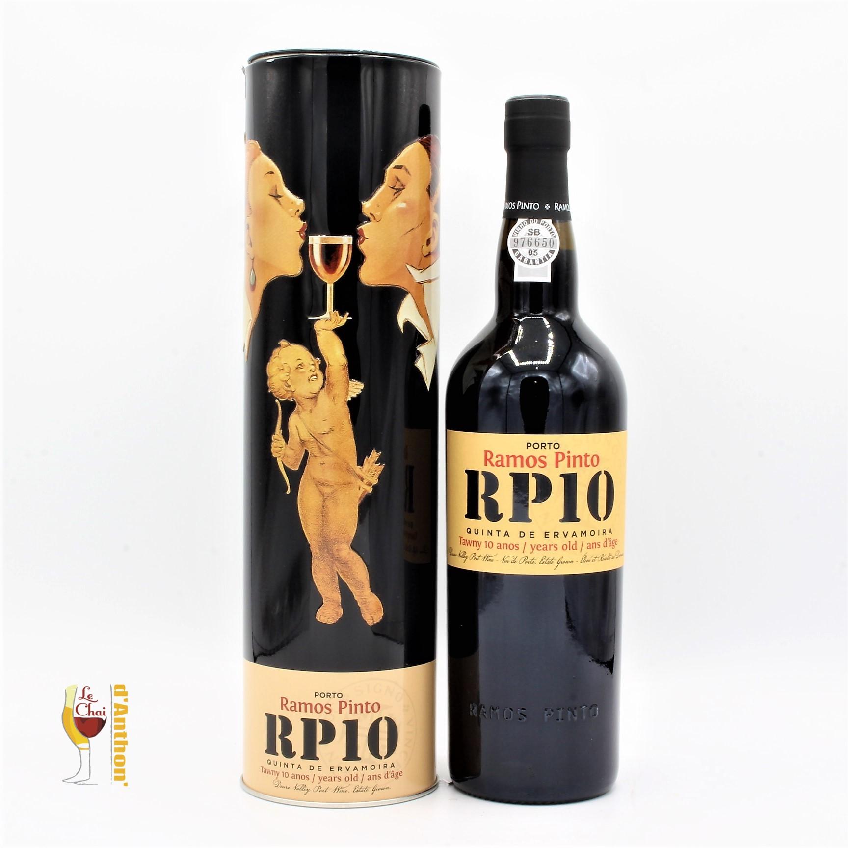 Le Chai D&942.JPG039;Anthon Vin De Liqueur Porto Douro Ramos Pinto 10 Ans 75cl 942