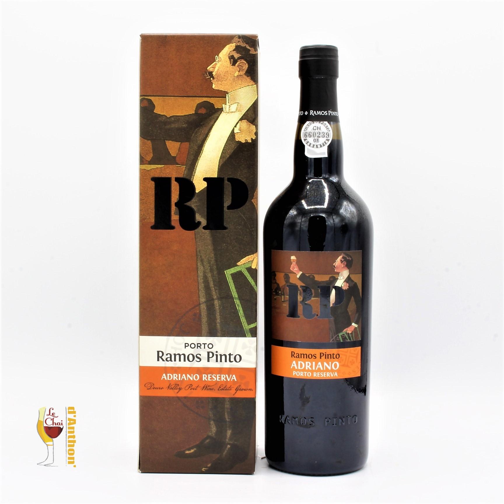 Le Chai D&942.JPG039;Anthon Vin De Liqueur Porto Douro Ramos Pinto Adriano 75cl 942