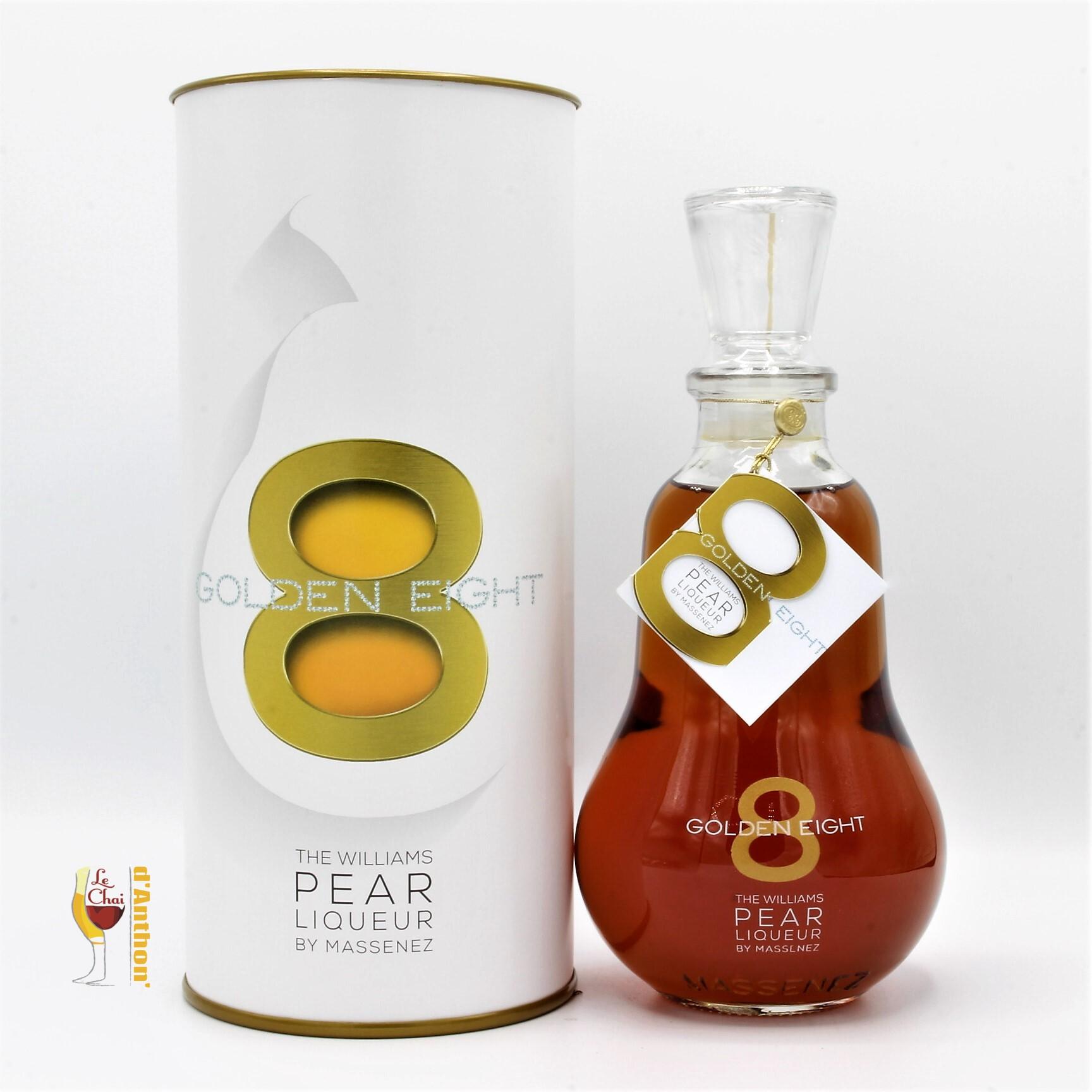 Le Chai D&945.JPG039;Anthon Liqueur Eau De Vie De Poire Williams Golden Eight Massenez 70cl 945
