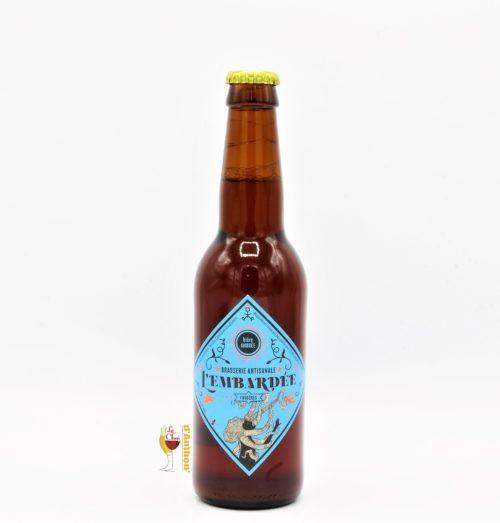 Biere Bouteille Ambree Brasserie Embardee Bretonne 33cl