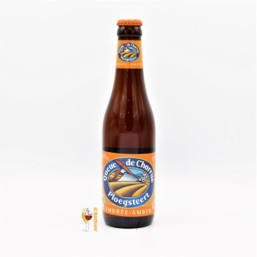 Biere Bouteille Ambree Brasserie Queue De Charrue Belge 33cl