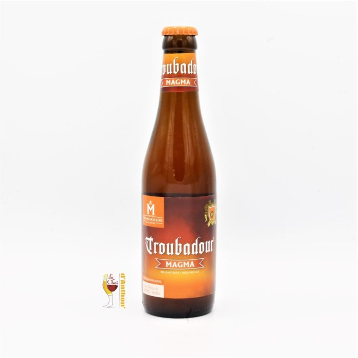 Biere Bouteille Ambree Brasserie The Musketeers Troubadour Magma Belge 33cl