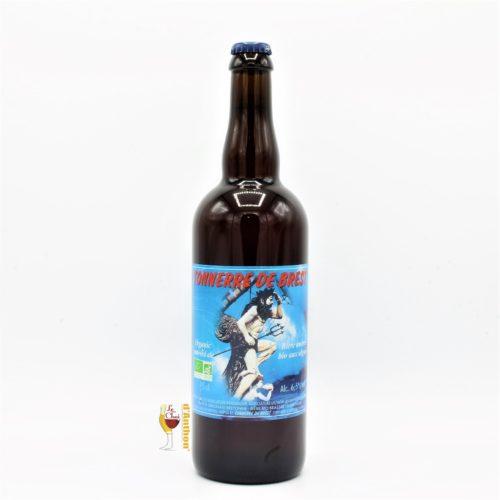 Biere Bouteille Ambree Brasserie Tonnerre De Brest Bretonne 75cl