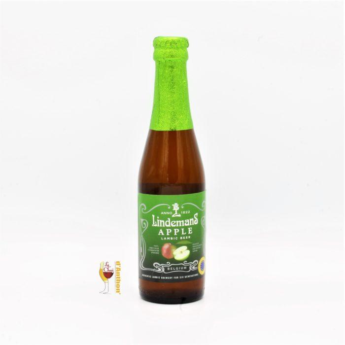 Biere Bouteille Aromatisee Brasserie Lindemans Apple Belge 25cl