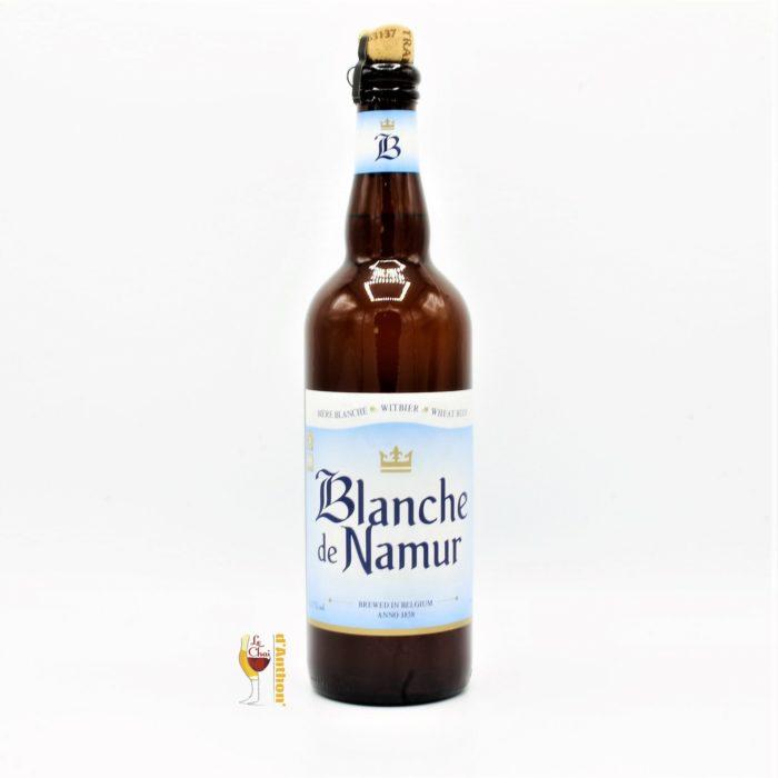 Biere Bouteille Blanche Brasserie Bocq Blanche De Namur Belge 75cl