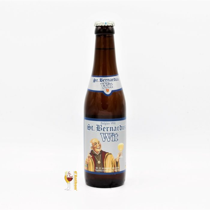 Biere Bouteille Blanche Brasserie Saint Bernardus Belge 33cl